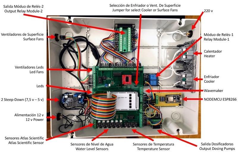 Ferduino Aquarium Controller • View image - Box 1